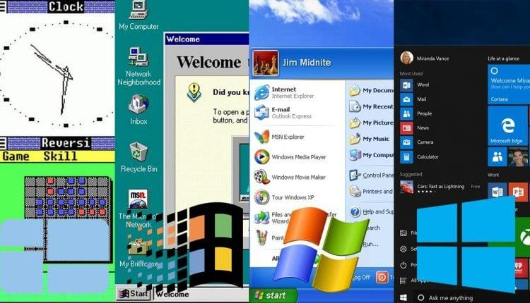 historique windows compatibilité