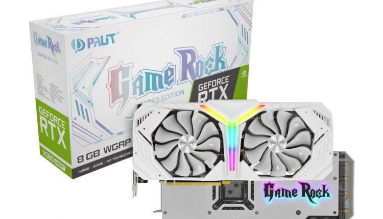 Palit GeForce RTX 2080 Super White GameRock Premium box omgpu