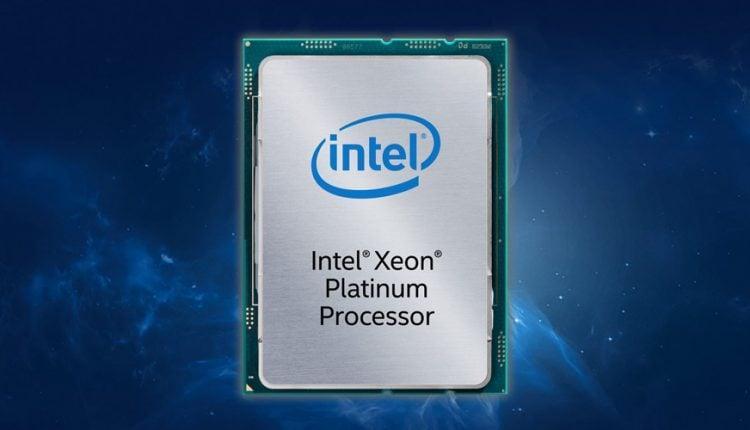 intel xeon scalable processor 8284 omgpu