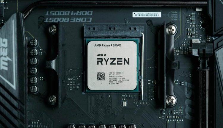 processor amd ryzen 3900x on motherboard omgpu