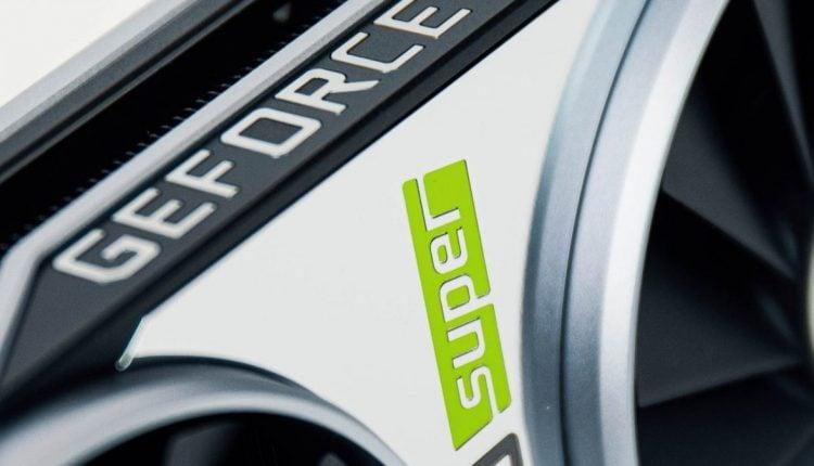 nvidia geforce super logo carte