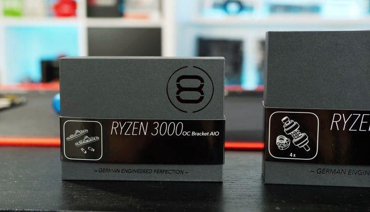 Drop Temperatures on RYZEN 3000 CPUs der8auer RYZEN 3000 OC Bracket