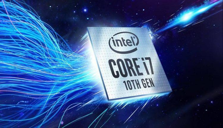 Intel Core i7 10 generation comet lake