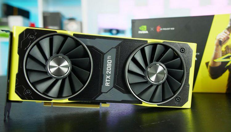 NVIDIA GeForce RTX Cyberpunk 2077 carte graphique unboxing