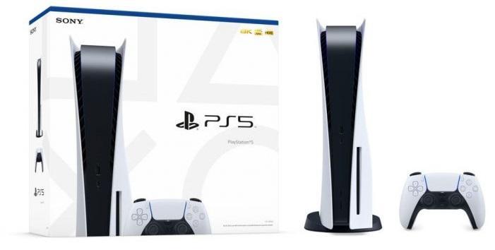 Playstation 5 Packaging Standard Edition Box Boite