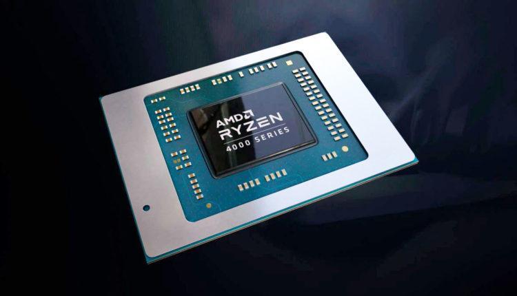 AMD ryzen 4000 processeurs processors face