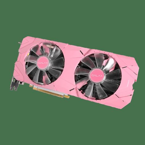 GALAX GeForce RTX 2070 Super EX PINK 27ISL6MD71PE carte graphique rose RGB 3
