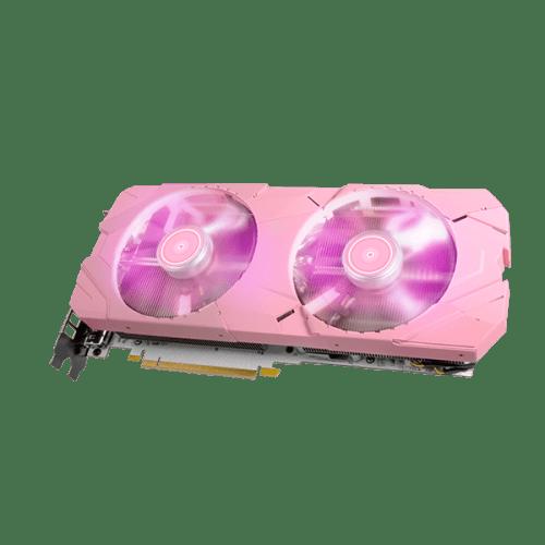 GALAX GeForce RTX 2070 Super EX PINK 27ISL6MD71PE carte graphique rose RGB 7