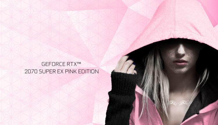 GALAX GeForce RTX 2070 Super EX PINK Edition