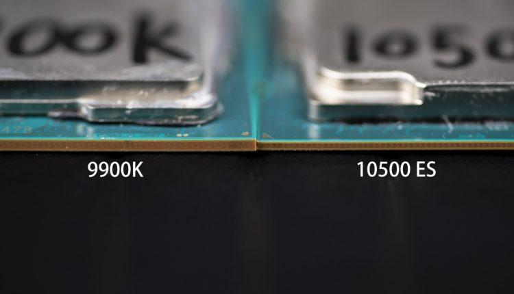 Intel Core 9900k Intel Core 10500 processeur comparaison CPU test