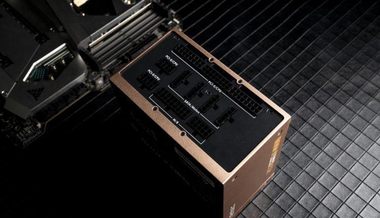 TEST Antec HCG High Current Gamer X HCG X1000 power supply alimentation side cote