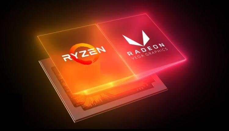 AMD Ryzen 3000 4000 5000 vega cpu