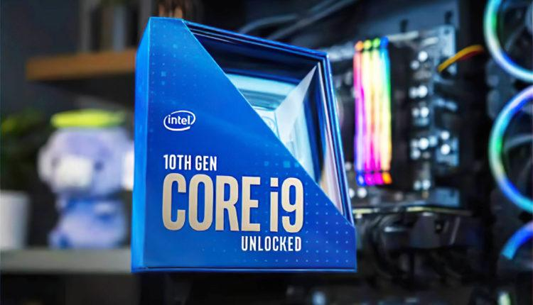 Intel generation Core 10000 specifications finales prix Comet Lake S scaled
