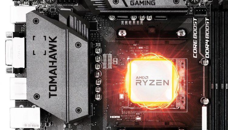 MSI mise a jour maj update BIOS Ryzen 3000 XT series 300 400 et 500 AMD Combo PI V1 V2
