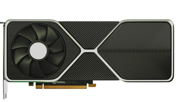 NVIDIA Geforce RTX 3080 3D carte 1