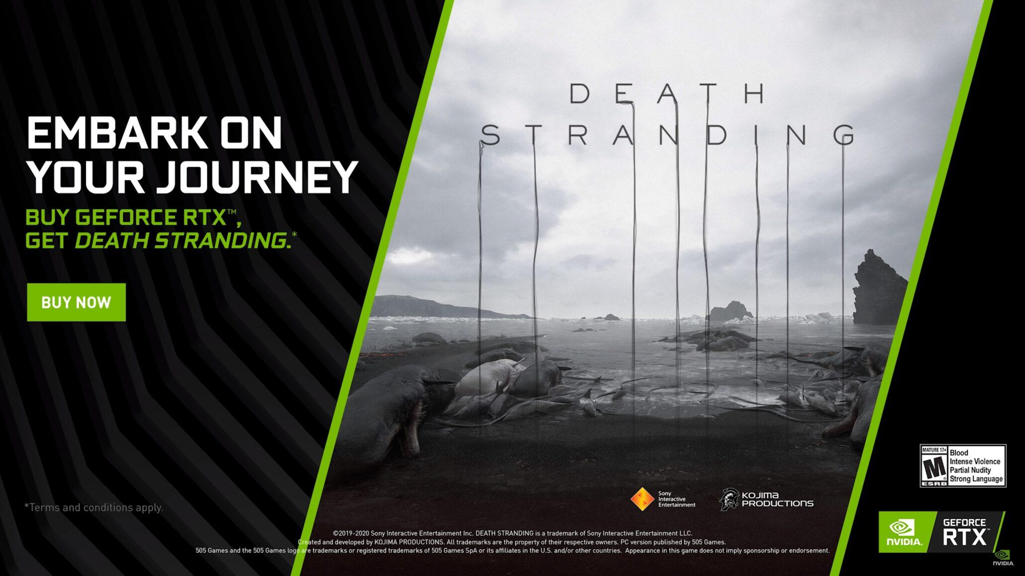 Bundle Death Stranding Nvidia