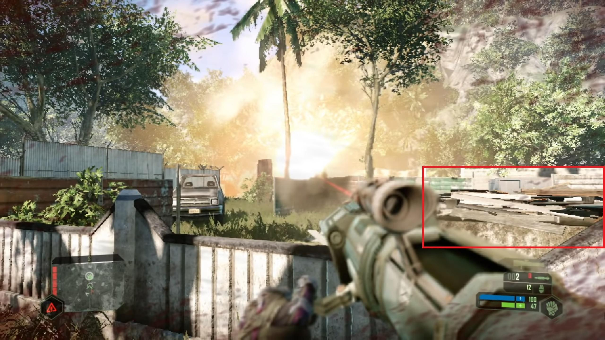 Crysis Remastered Switch Low Faible Resolution