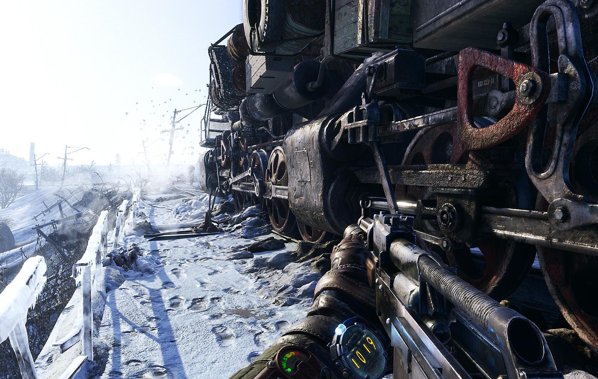 Metro Exodus 4a Games Dlss 2.0 Nvidia