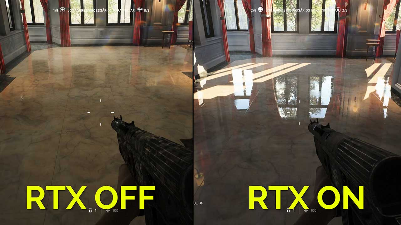 Rtx Ray Tracing On Off