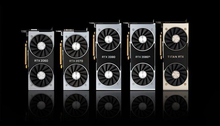 Nvidia Geforce Rtx 2000 Family Card Carte Famille