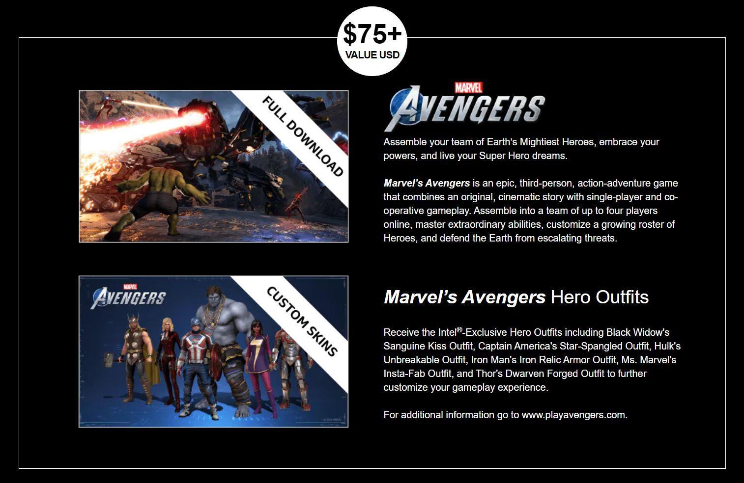 Msi Avengers Intel Bundle
