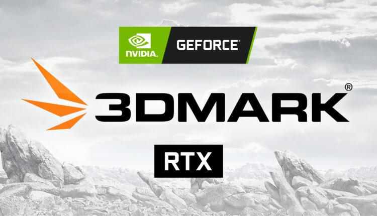 3dmark + Rtx Logo Nvidia Geforce