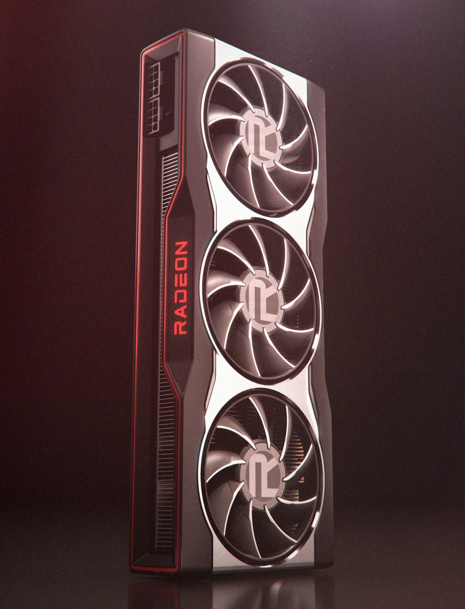 Amd Radeon Rx 6000 Series Graphics Card Design