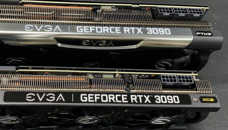 Evga Geforce Rtx 3090 Xc3 Nvidia Card Carte