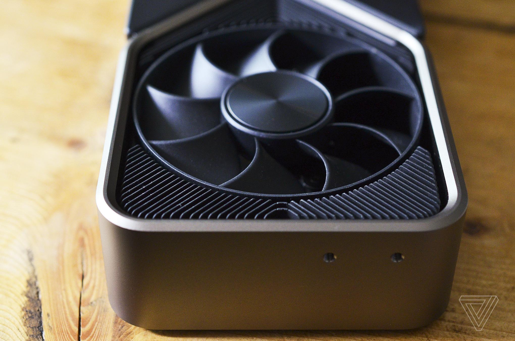 Nvidia Geforce Rtx 3080 Card Carte Graphique Fan Ventilateur