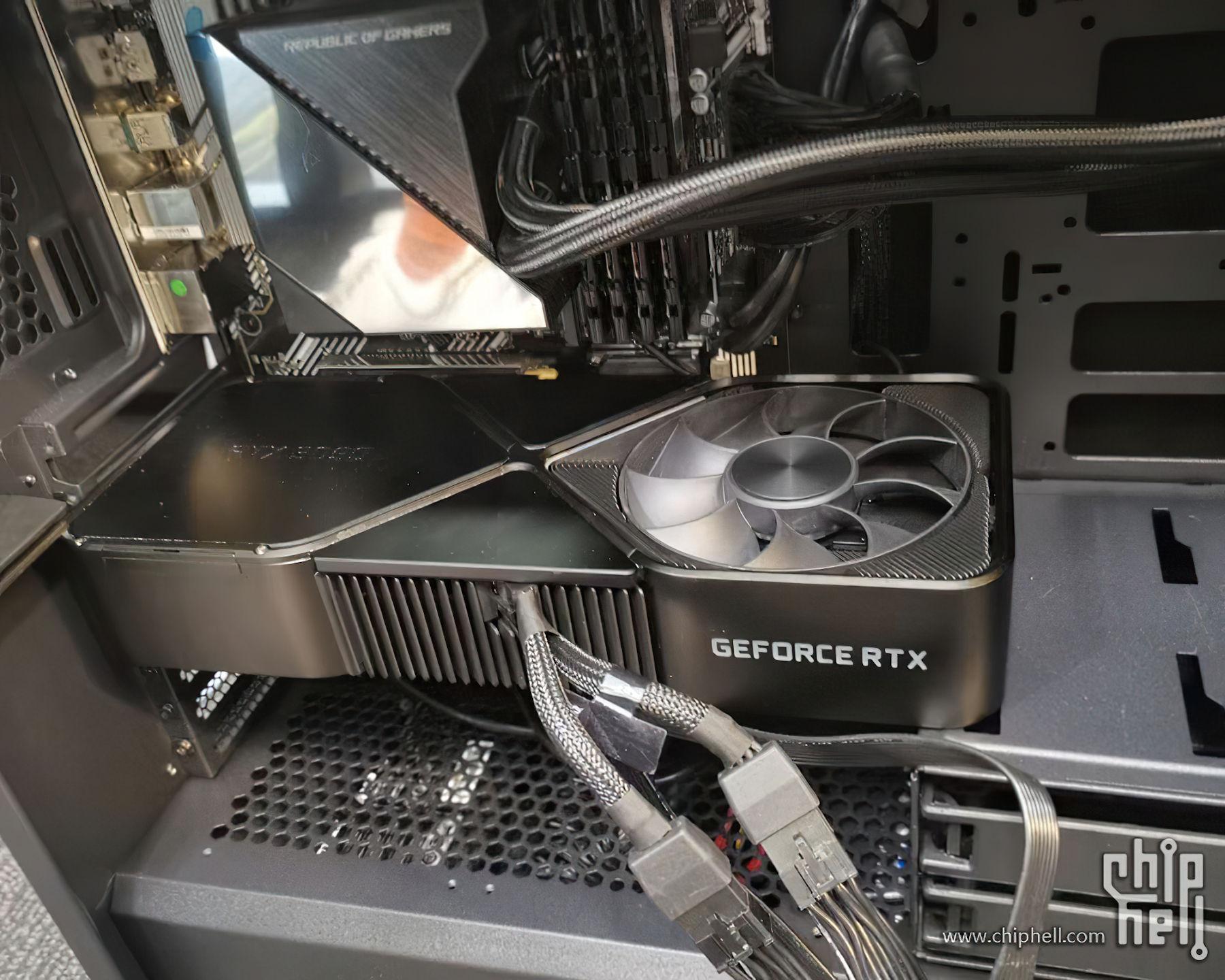 Nvidia Geforce Rtx 3090 In A Case Dans Un Boitier Pc