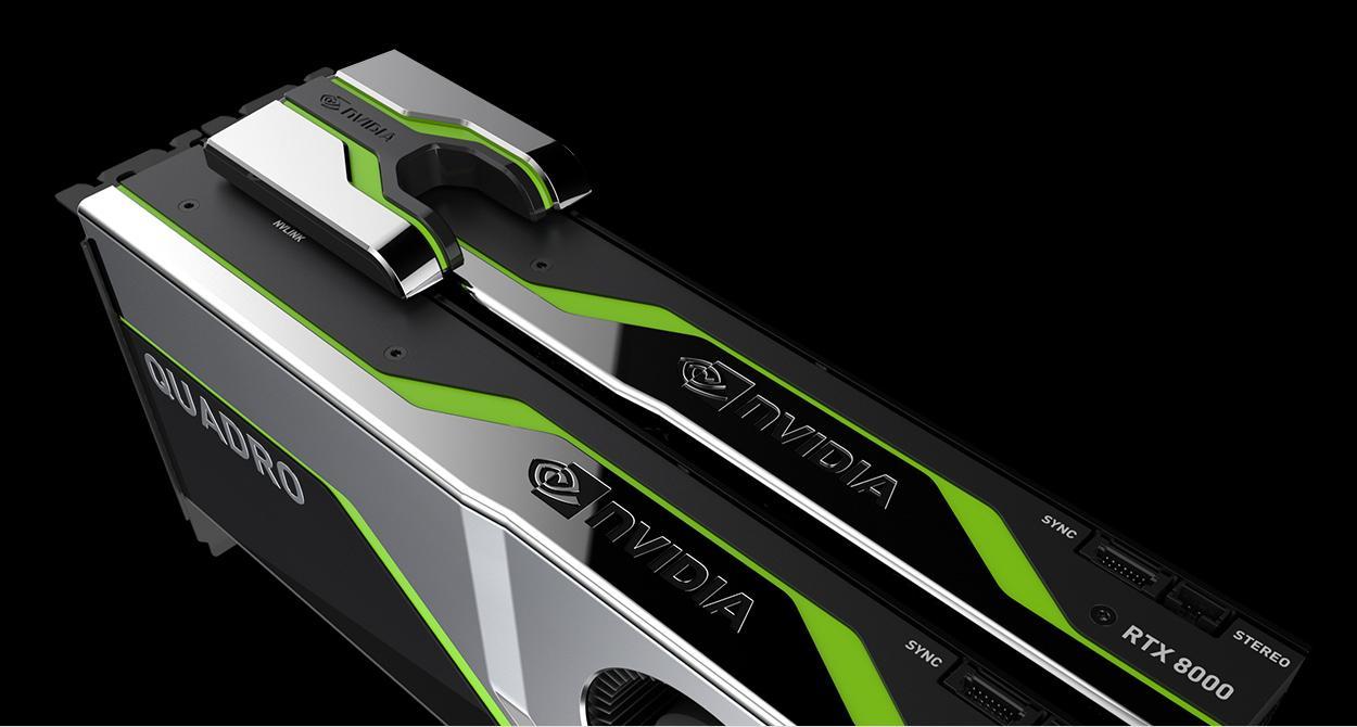 Nvidia Quadro Rtx 8000 8100 Carte Nv Link