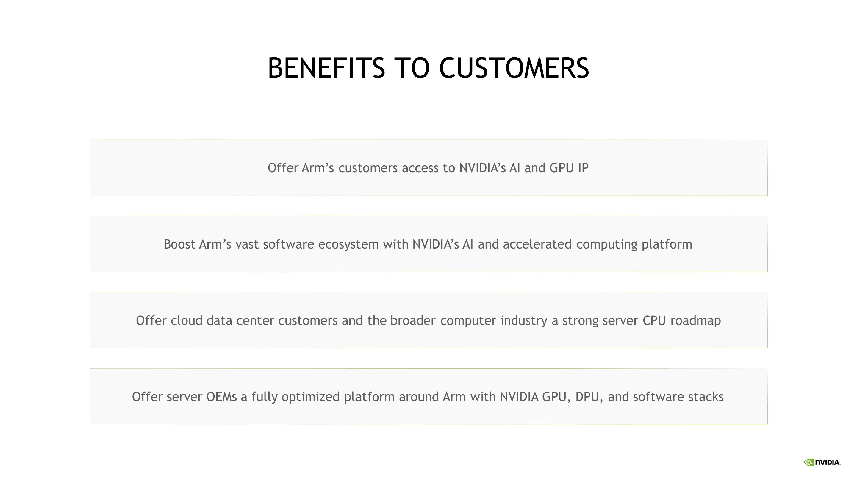 Nvidia Rachète Arm Pour 40 Milliards De Dollars Ai Benefice Utilisateur Acheteur