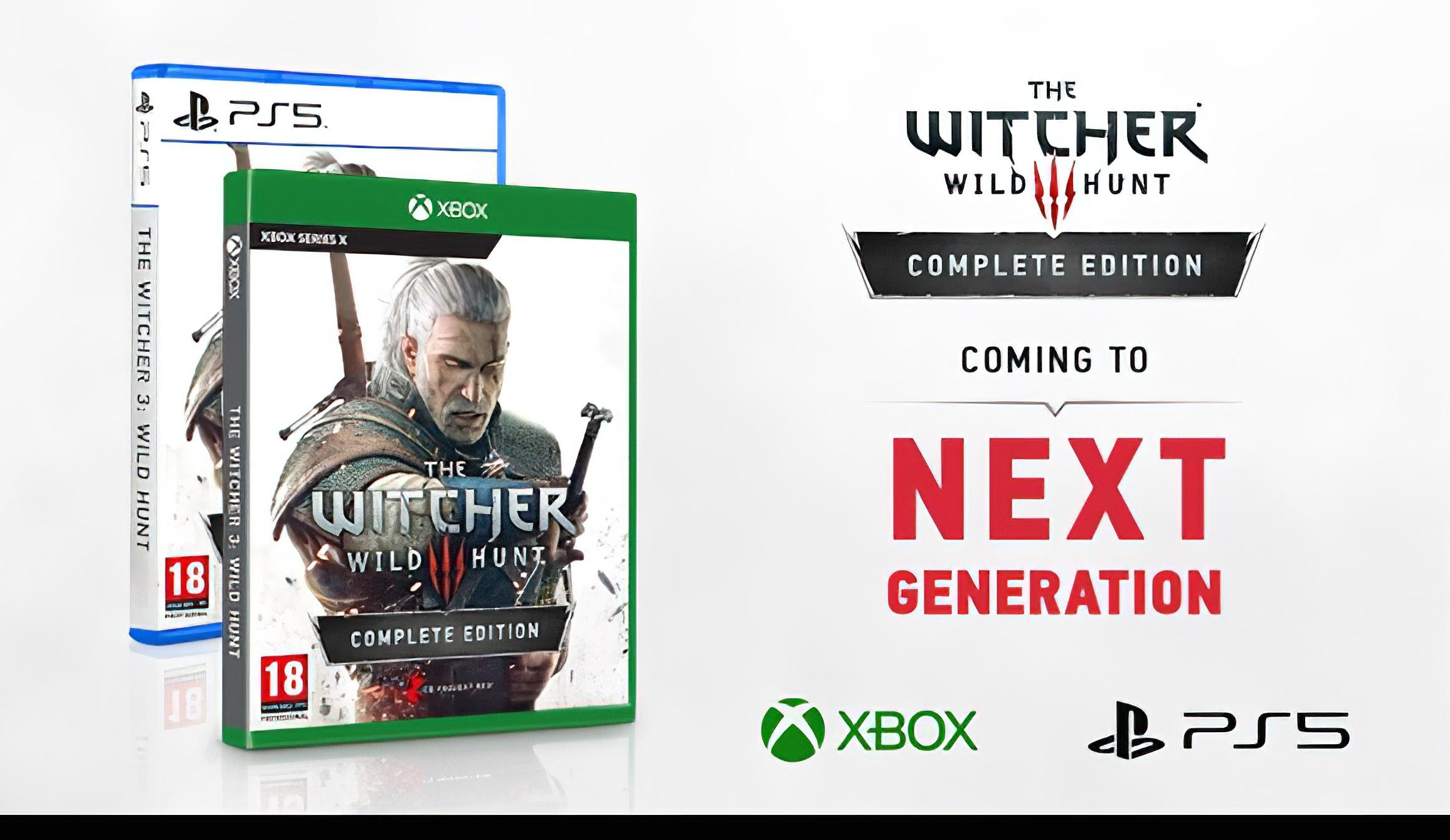 The Witcher 3 Next Gen Hdr Ray Tracing Box Ps5 Xbox Series X