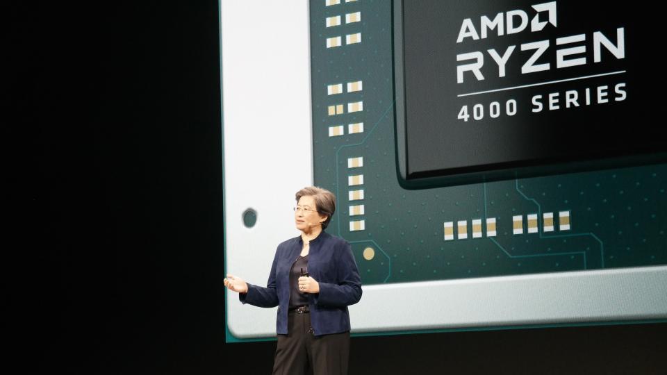 Amd Presentation Ryzen 4000 Lisa Processeur