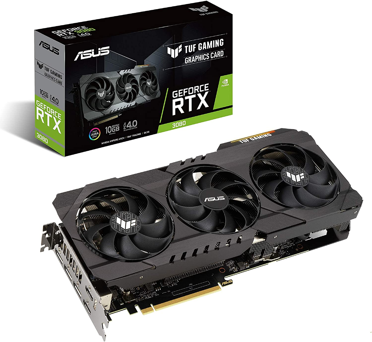 Asus Tuf Gaming Nvidia Geforce Rtx 3080 Graphics Card Carte Graphique