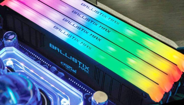 Crucial Ballistix Max Franchit La Barriere Des 7 Ghz