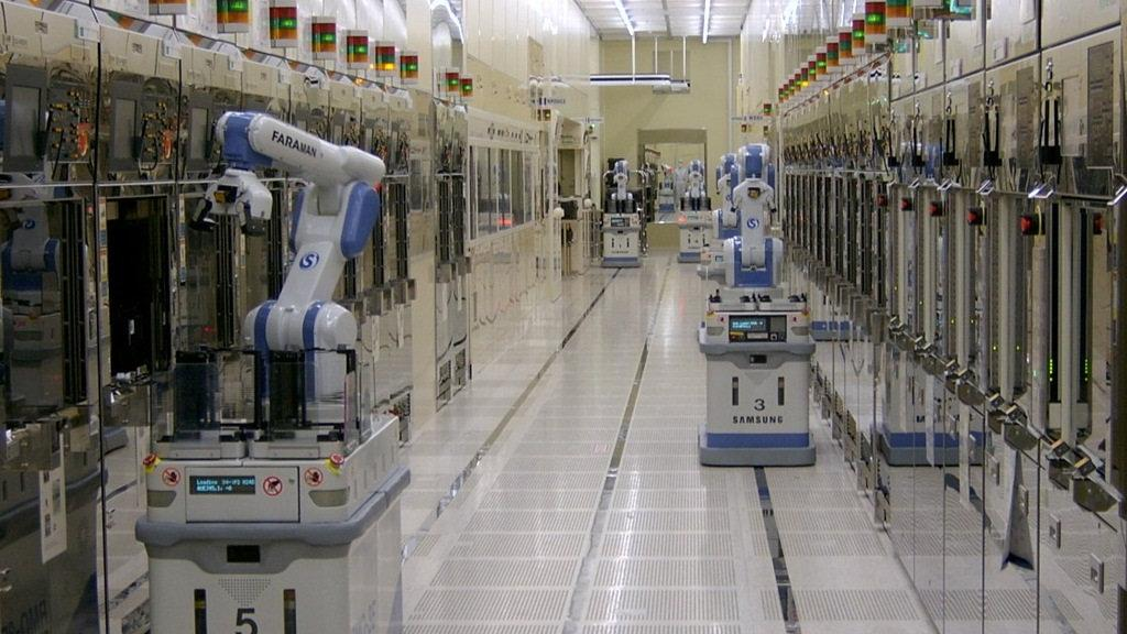 Samsung Usine Factory Nvidia
