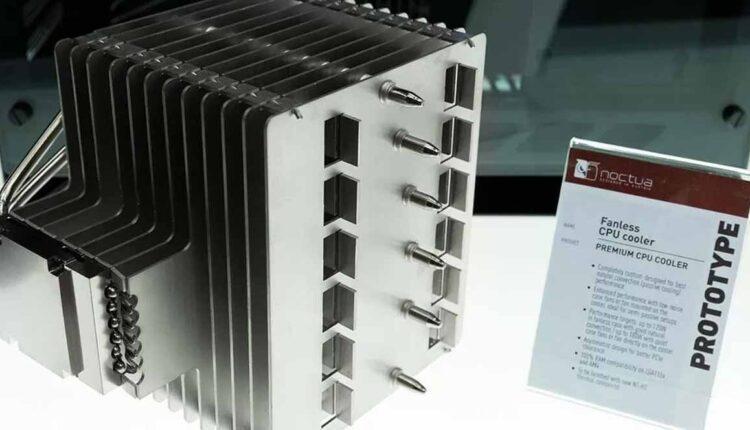 Noctua prépare son radiateur passif haut de gamme, il pèse 1,5 kg!