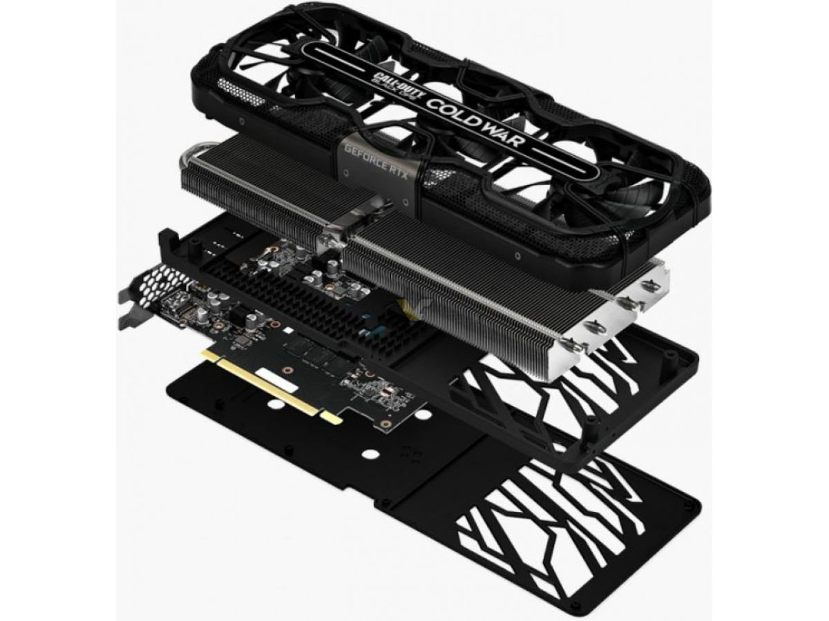 RTX 3070 HV Black Monster COD Edition