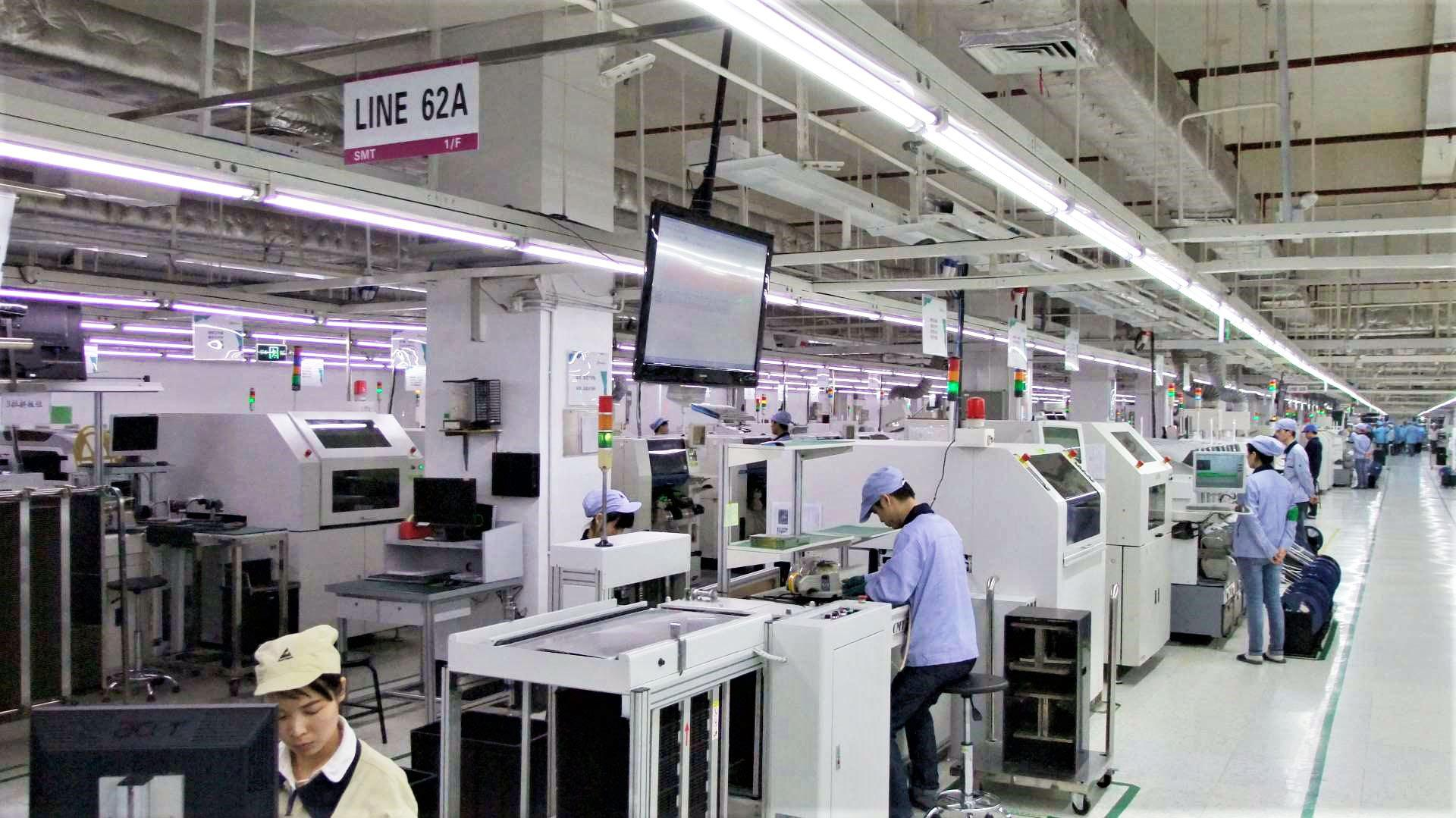 Amd Nvidia Factory Production