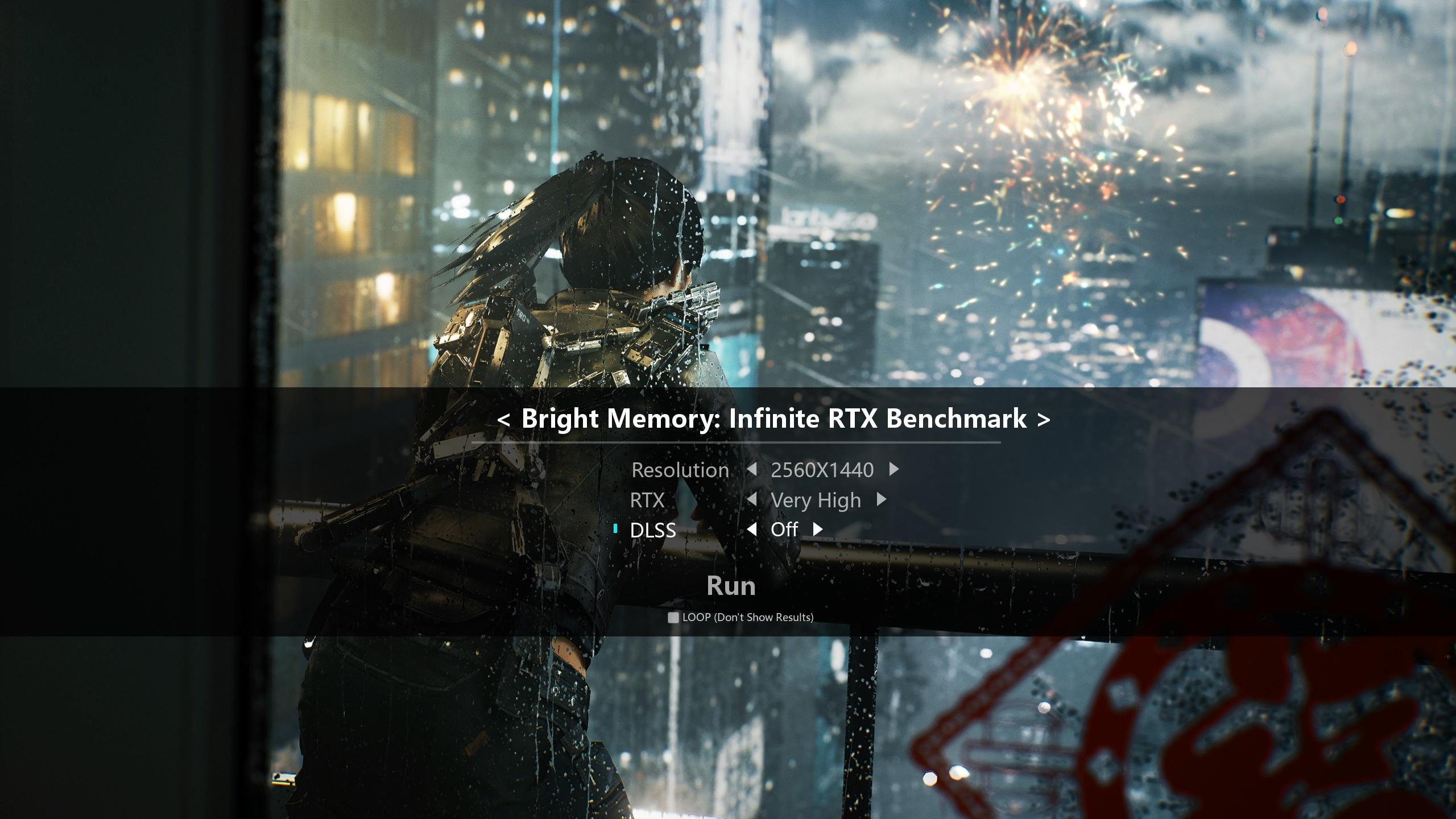Bright Memory Infinite Rtx Benchmark Reglage Rtx 3080