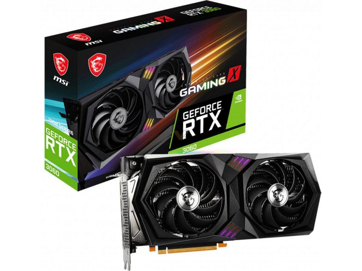 Msi Geforce Rtx 3060 12go Gaming X1