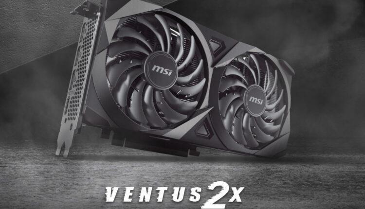 Msi Geforce Rtx 3060 Ti 8go Ventus 2x Ocv1 Nvidia
