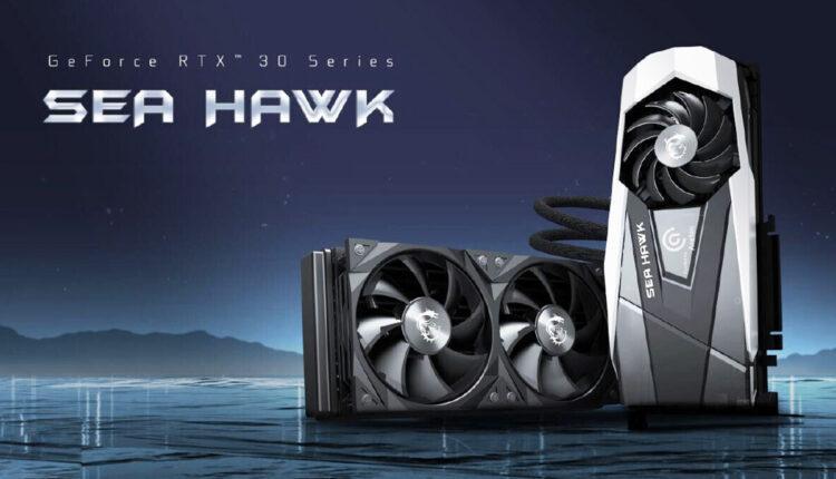 Msi Rtx 3080 3090 Sea Hawk Watercooling