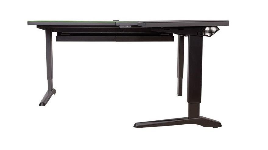 Toughdesk 500l Rgb Battlestation Desk Bureau Gamer Gaming 2