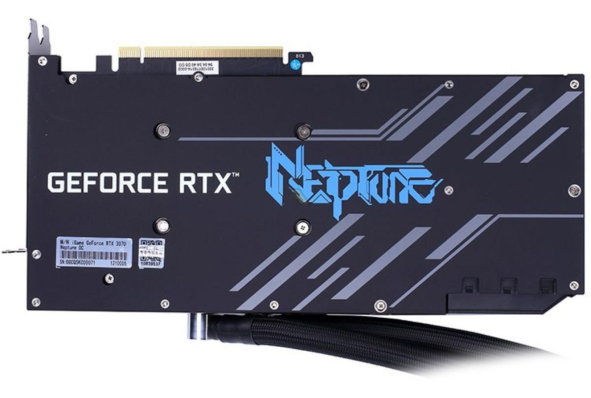 Colorful Geforce Rtx 3070 8go Igame Neptune Oc1 Backplate