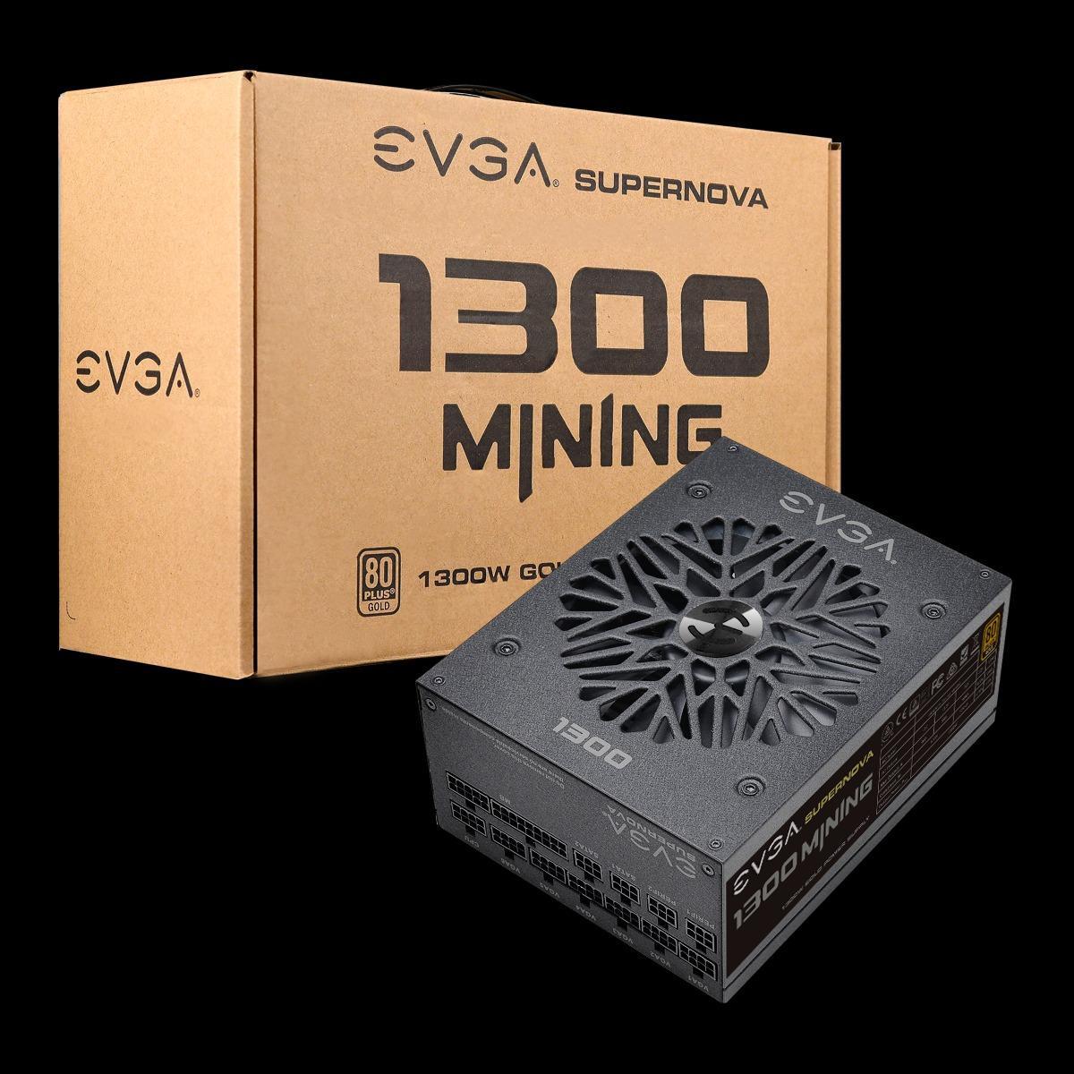 Evga 1300 M1 Cryptocurrency Mining Psu Alimentation Minage Crypto Power Supply
