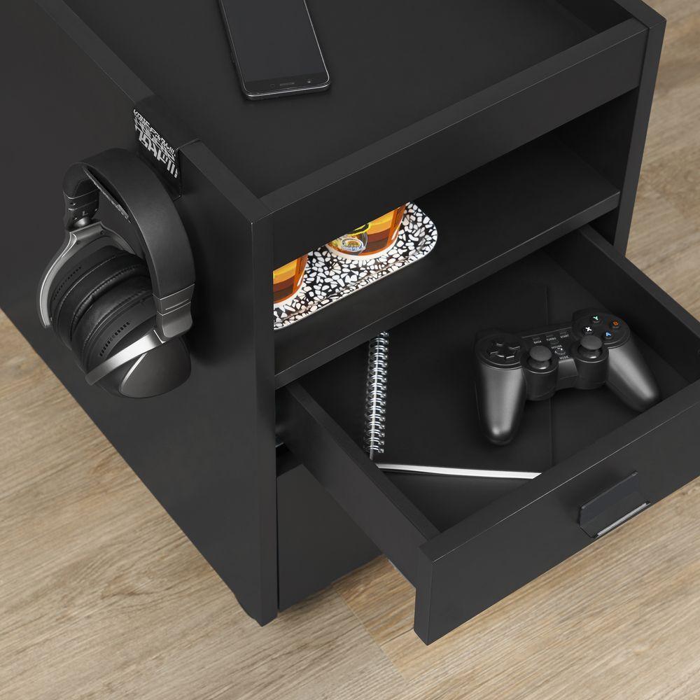 Uppspel Drawer Unit On Castors Casier Ikea Asus Rog Jeu Gamer 1