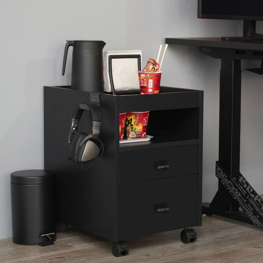 Uppspel Drawer Unit On Castors Casier Ikea Asus Rog Jeu Gamer 2