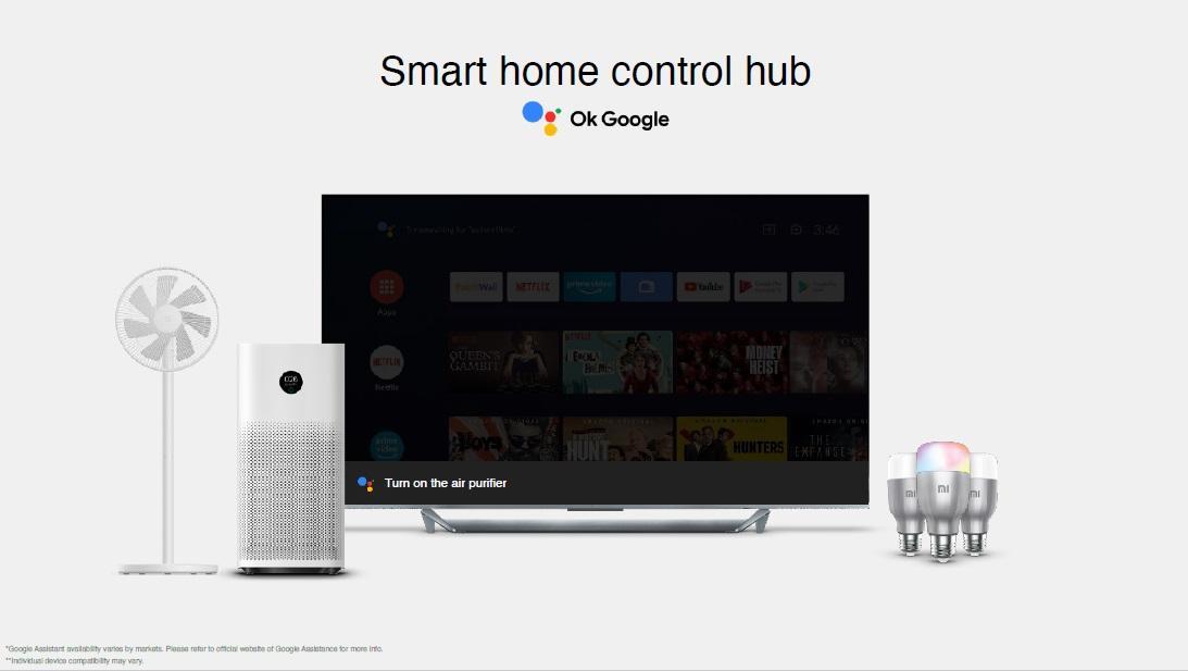Xiaomi Mi Q1 Tv 4k 120hz Qled Hdmi 2.1 Control Hub